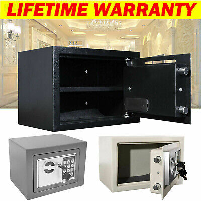 Electronic Password Security Safe Lock Money Cash Deposit Box Office Home Safety • 36.45£