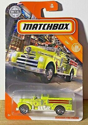 $1.80 • Buy Matchbox 2020 Seagrave Fire Engine Mbx City 1/64 Diecast Truck