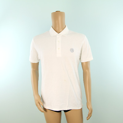 Used Volkswagen Polo Shirt White • 24£