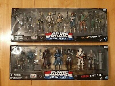 $ CDN599.99 • Buy G.I. Joe 25th Anniversary Lot - Resolute Joe And Cobra Battle Sets BBTS Excl.