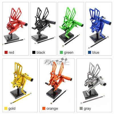 $104.81 • Buy For ZX9R 1999 2000 2001 2002 2003 Footpeg Rearset Foot Pedals Set For KAWASAKI