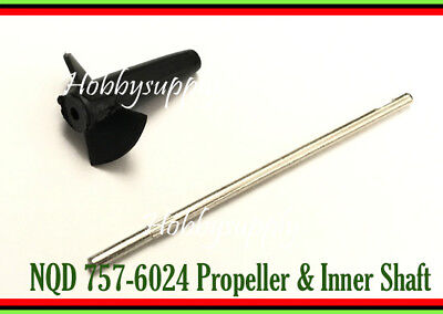 $ CDN10.63 • Buy NQD-757 6024 RC JET Part Inner Shaft With Propeller For RC Boat Replacement X 1