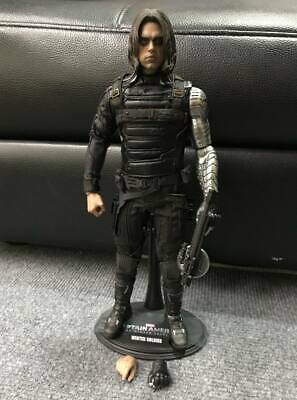 $225 • Buy Hot Toys 1/6 MMS241 Captain America Winter Soldier Bucky Action Figure