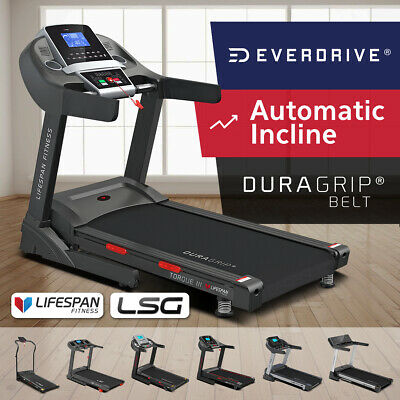 AU429 • Buy NEW Lifespan LSG Fitness Treadmills Home Gym Exercise EverDrive Electric Motor