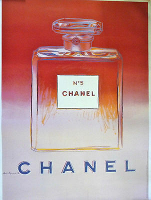 $175 • Buy Andy Warhol Publicity Poster For Chanel No 5, Ped/pink, 1997