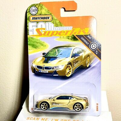$6.75 • Buy MATCHBOX 50TH ANNIVERSARY GOLD BMW I8
