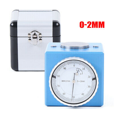 $63.79 • Buy Magnetic Z Axis Dial Zero Pre Setter Tool 2mm Height +-0.01mm Gage Offset F/ CNC