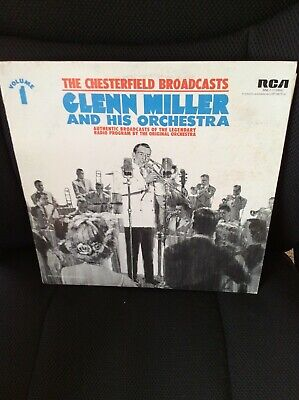 $6 • Buy GLENN MILLER & His Orchestra: The Chesterfield Broadcasts Vol. 1 (LP)  Vinyl