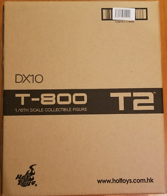 AU1116.91 • Buy Hot Toys 1/6 DX13 Terminator T2 T-800 Battle Damaged Special T1000  Not Opened