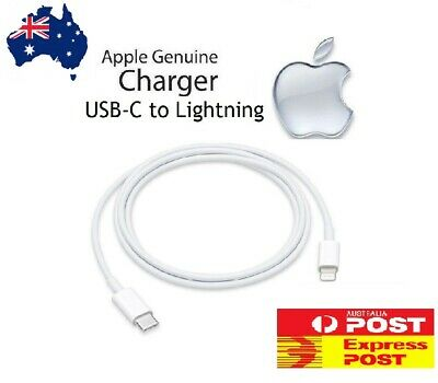 AU11.99 • Buy GENUINE Apple USB-C To Lightning Cable For IPhone 11 PRO/ PRO MAX/ XS/ IPad