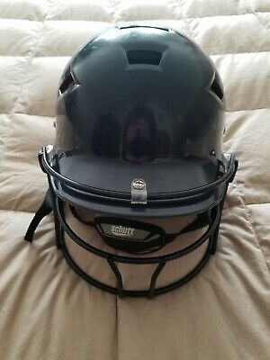 $10 • Buy Schutt Softball Helmet With Face Mask And Chin Strap Great Condition Sz 7-7.5