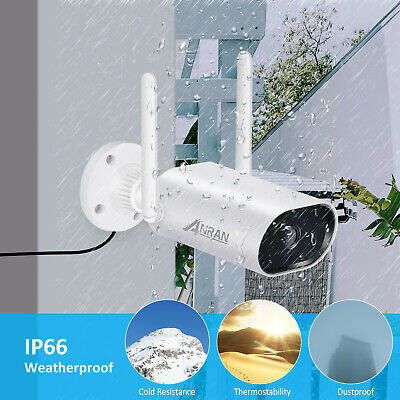ANRAN Wireless Home Security Camera System Outdoor WIFI CCTV With 1TB Hard Drive • 212.09£