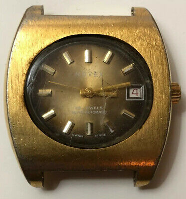 $ CDN109.95 • Buy Vintage Rare Novex Watch 25 Jewels Superautomatic Swiss Made Repair/parts