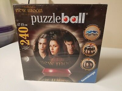 $9.47 • Buy Ravensburger Twilight New Moon 3D Puzzle Ball New 6  Ball 240 Pieces. Brand New.