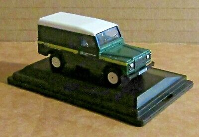 Oxford Diecast Land Rover Defender Forestry Commission 1:76 Scale Model Car • 7.30£