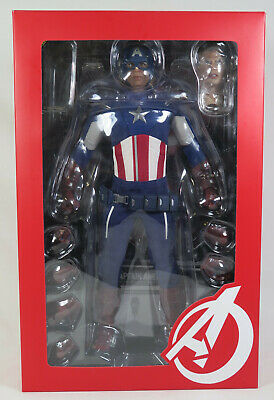 $299.95 • Buy Hot Toys The Avengers Captain America MMS 174 1/6th Scale 12  Figurine
