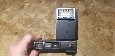 $ CDN42.22 • Buy Vintage Kodak Trimlite Instamatic 28 Camera With Strap Zip Case & GE Flip Flash