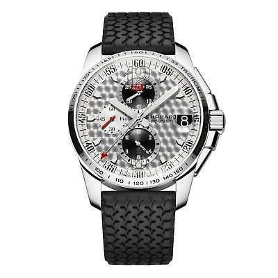 New Chopard Mille Miglia GT XL Stainless Steel Automatic Watch 168459-3019 • 5,119.31£