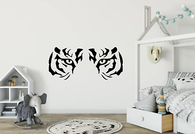 £7.98 • Buy Tiger Eyes And Face Wall Art Decal Sticker Home Decor A80