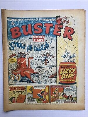 BUSTER AND MONSTER FUN BRITISH COMIC 7TH JANUARY 1978 EX Condition Very Rare • 6.90£