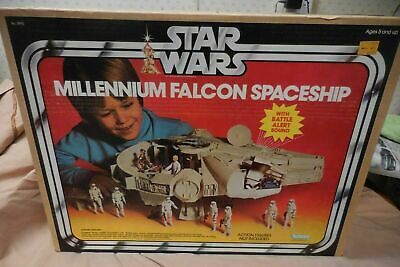"$ CDN29.35 • Buy Vintage 1979 Star Wars Millennium Falcon Kenner 21"" With BOX Complete Jedi Ball"
