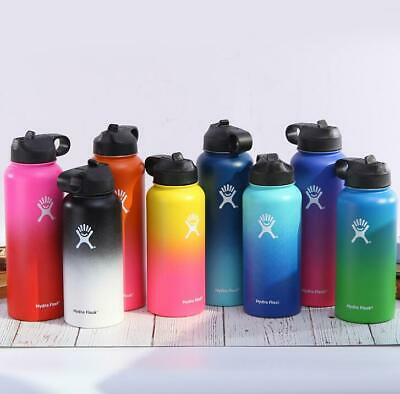 $17.99 • Buy Hydro Flask Wide Mouth Stainless Steel Bottle With Cap Multicolor 32 / 40 Oz