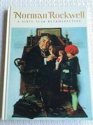 $ CDN13.29 • Buy Norman Rockwell  A Sixty Year Retrospective  Hard Cover Book 1972 Very Good Cond