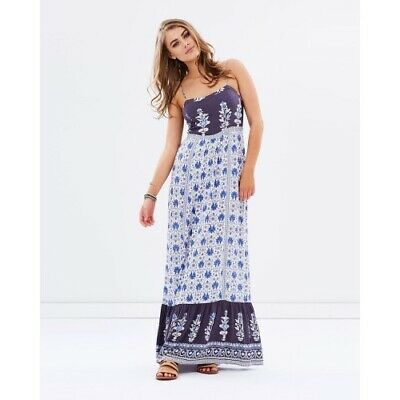 AU24.17 • Buy Tigerlily Lalana Maxi Dress - Size 10