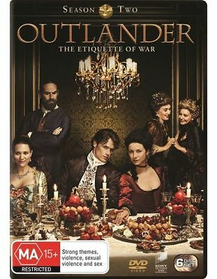 AU18.99 • Buy Outlander : Season 2 (DVD, 2016, 6-Disc Set)
