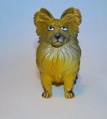 £5.81 • Buy New-Ray Vintage Rubber Dog Figure Papillon
