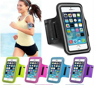 Apple Gym Running Jogging Sports Armband Holder For IPhone 12 SE X MAX 11 PRO XR • 2.98£