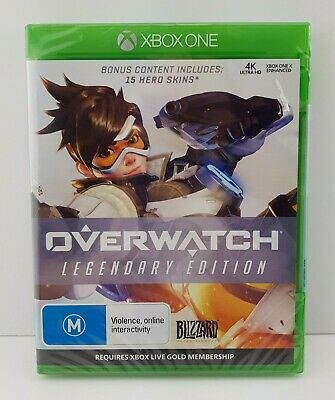 AU20 • Buy Overwatch Legendary Edition Brand New Sealed Box- Xbox One 2018