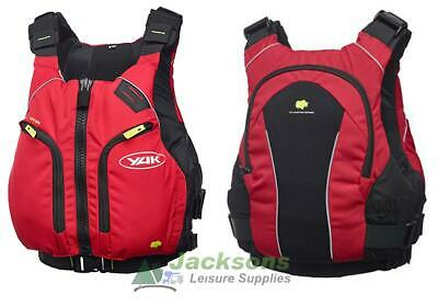 Yak Xipe 60n Buoyancy Aid Canoe Kayak Sit On Top  Watersports Pfd S - M Red New • 78.95£