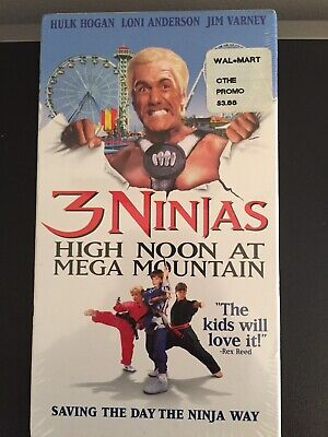 $ CDN13.29 • Buy 3 Ninjas - High Noon At Mega Mountain (VHS, 1998, Closed Captioned)