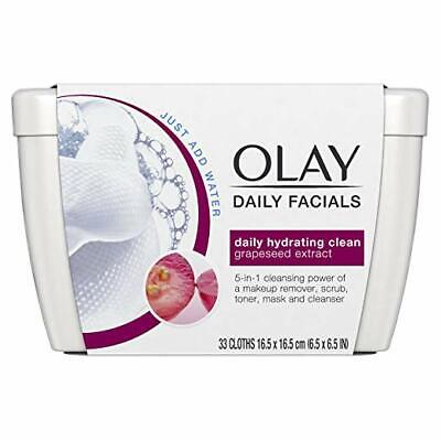AU11.57 • Buy  Olay Daily Facials Makeup Remover Wipes , Soap-Free Cleanser Cloths, 33 Cloths