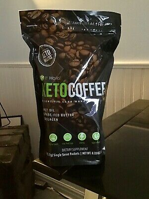 $42 • Buy Keto Coffee It Works 16 Single Serve Packets (15) KETOCOFFEE