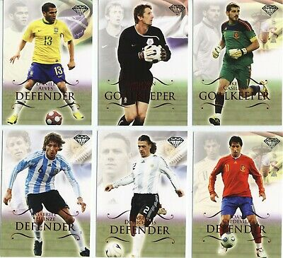 Futera 2011 Ruby Parallel Football Cards Choose Your Players 122 Different New • 6£