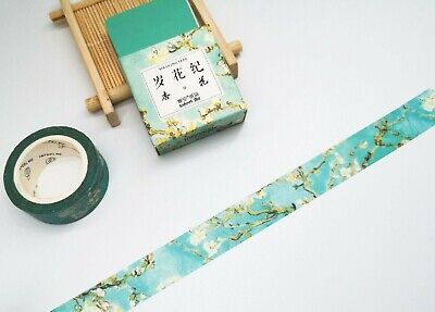 AU2.80 • Buy Japan Washi Tape Almond Bloosoms 15mmx7m  MT406
