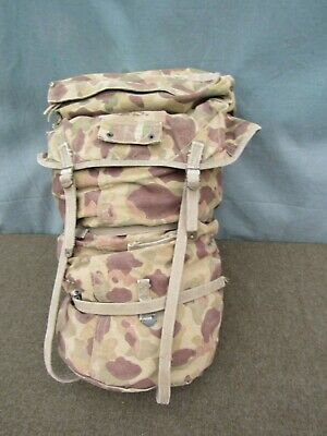 $134.50 • Buy Complete Original WWII WW2 USMC Camouflage Jungle Pack In Very Nice Condition