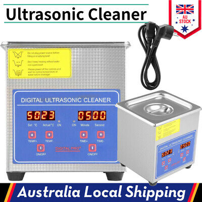 AU62.65 • Buy Digital Ultrasonic Cleaner 1.3L Stainless Steel Heater Timer AU Stock Promotion