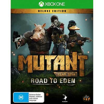 AU33.95 • Buy Mutant Year Zero Road To Eden Deluxe Edition Xbox One New Sealed AU