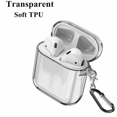 $ CDN5.40 • Buy For Apple AirPods Accessories Clear Crystal Case AirPod Soft TPU Cover Protector