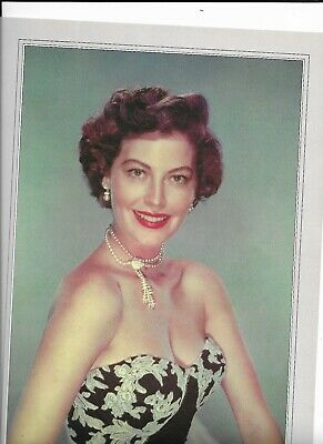 Movie 'Sex Symbol' Colour Picture With Biography: Ava Gardner • 5£