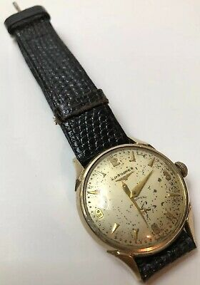 $ CDN394.95 • Buy Vintage Longines 10k Gold Filled Automatic Watch Head For Repair / Runs 19A