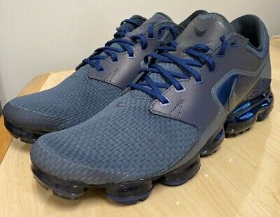 $32 • Buy NIKE Men's AIR VAPORMAX R  MIDNIGHT FOG  REFLECTIVE Running Shoes Size 12