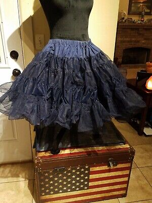 $15 • Buy Blue  Square Dance Petticoat