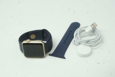 $ CDN162.21 • Buy Apple Watch Series 2 42mm Gold Aluminum Case With Midnight Blue Used Good B0867