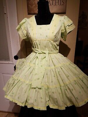 $15 • Buy GREEN Square Dance Dress