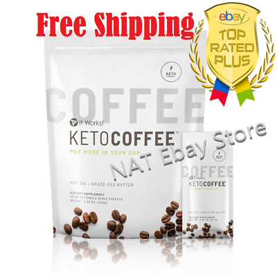 $38 • Buy It Works Keto Coffee Sealed Bag 15 Packets Carb Management Free Shipping 🚚🚚