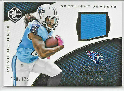 $0.99 • Buy 2016 Panini Limited Derrick Henry Spotlight Rookie Jersey Relic  Titans  98/125